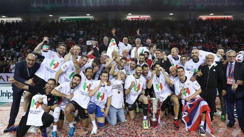 Volley superlega la lube civitanova campione d 39 italia corriere dello sport - Cucine lube civitanova ...