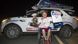 Wing For Life: vince lo svedese Aron Anderson con 92,14 km percorsi sulla sua sedia a rotelle
