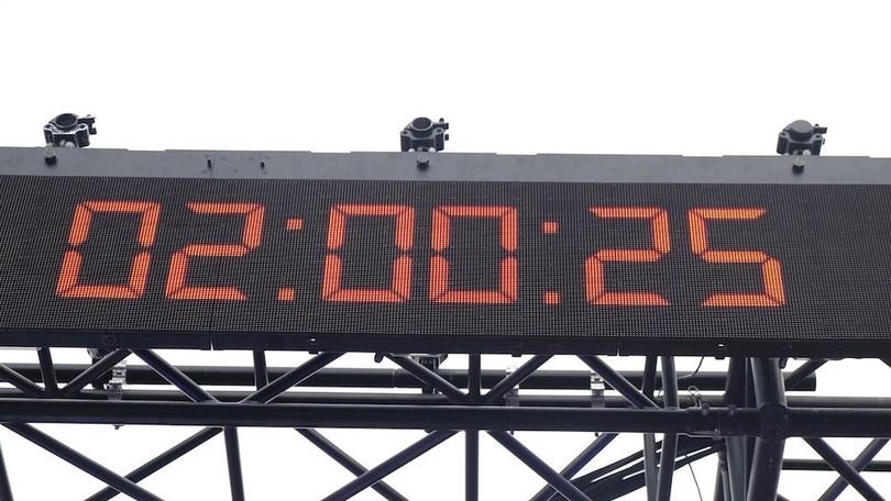 Breaking2: il muro delle 2 ore in maratona non crolla, missione fallita
