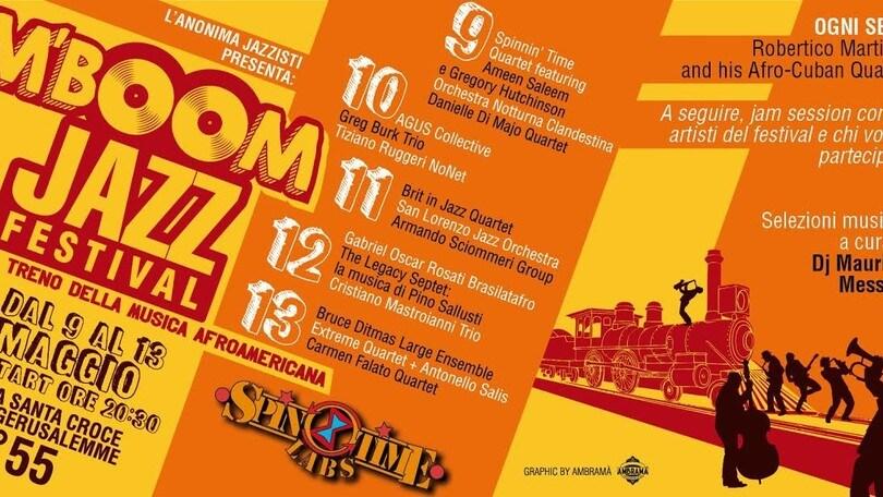 Tra jazz e musica afroamericana: ecco il M'BOOM Fest