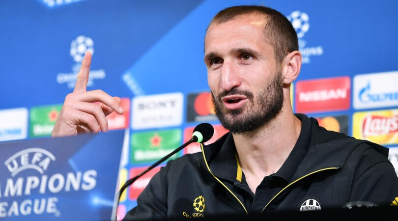 Champions League Juventus, Chiellini: «Triplete? È giusto che i tifosi sognino»