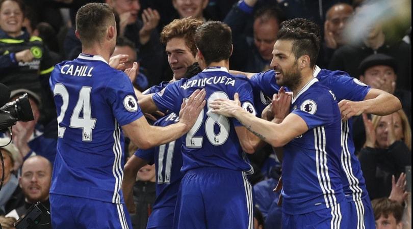 Premier League, Chelsea-Middlesbrough 3-0: Conte è a tre punti dal titolo