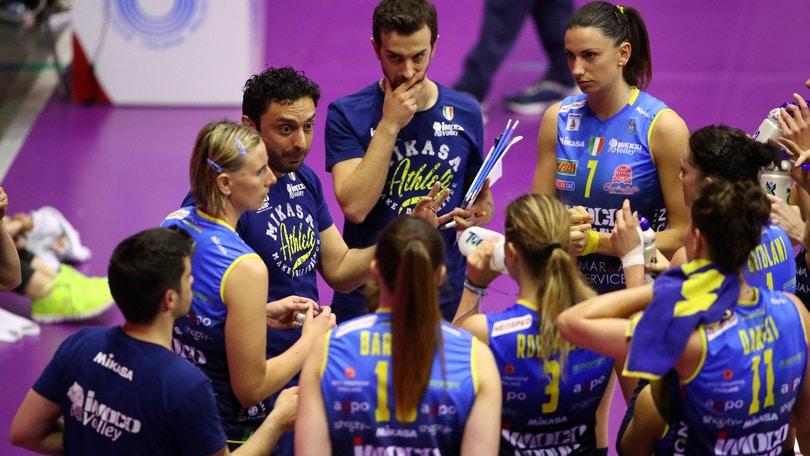 Volley: A1 Femminile, Daniele Santarelli sulla panchina di Conegliano