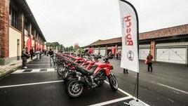 Ducati DRE Safety, la guida sicura con Bosch