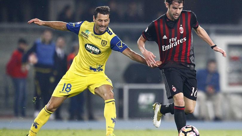 Serie A Milan, sorride Montella: Poli torna in gruppo