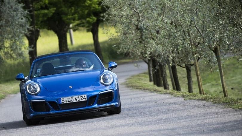 Porsche 911 GTS, Milano – Stoccarda solo andata: la prova