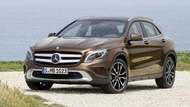 Mercedes GLA 200d, la prova - la crossover viaggiatrice
