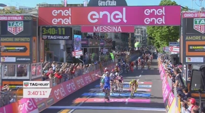 Giro d'Italia 2017, 5ª tappa: Gaviria sprint vincente, secondo successo