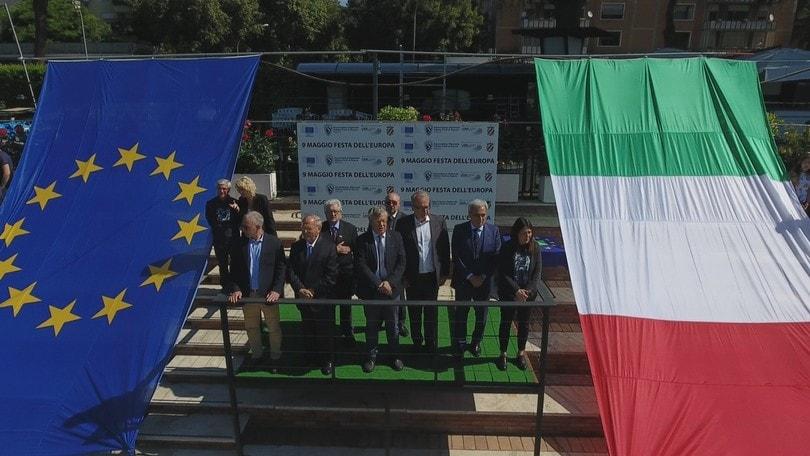Roma, giornata di sport e di festa per l'Europa