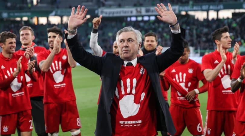 Roma, Ancelotti: «Totti? Decida lui quando ritirarsi»
