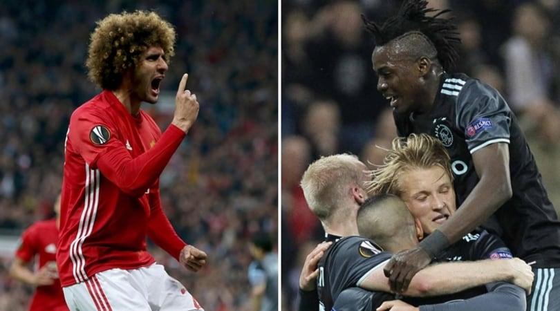 Europa League: Celta e Lione a casa, finale tra United e Ajax