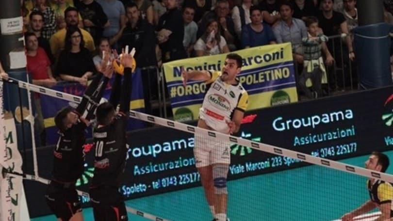 Volley: A2 Maschile, non è finita, Spoleto pareggia i conti