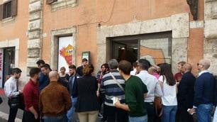Roma, ancora ressa per Totti: nuovamente in fila per i biglietti