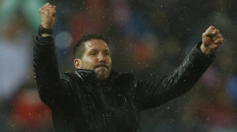 Claciomercato, Simeone: «Rimarrò all'Atletico Madrid»