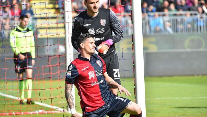 Serie A Cagliari, stop Gabriel: fastidio al ginocchio