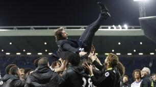 Chelsea campione d'Inghilterra: Conte impazzisce di gioia!