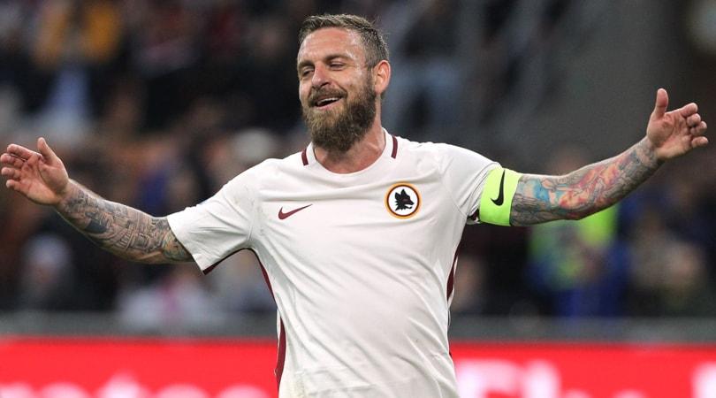 Calciomercato Roma: De Rossi, rinnovo più fascia