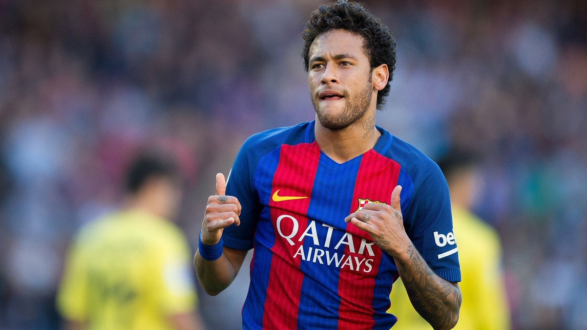 <address>Nel mondo<br/>Neymar (Barcellona): 55,5 milioni di euro