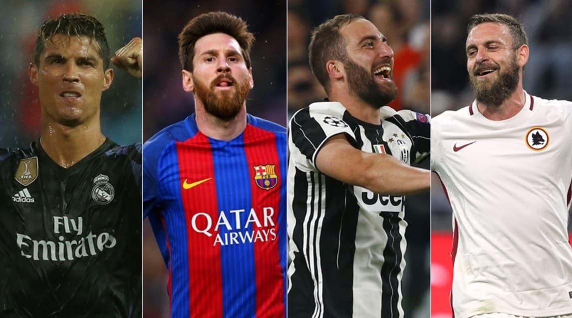 Da Cristiano Ronaldo a Messi, da Higuain a Dzeko: i calciatori con gli ingaggi più alti nel mondo e in Italia, calcolati al lordo (le cifre comprendono gli sponsor e i diritti d'immagine)