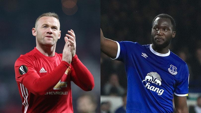 Manchester United, soldi e Rooney all'Everton per Lukaku