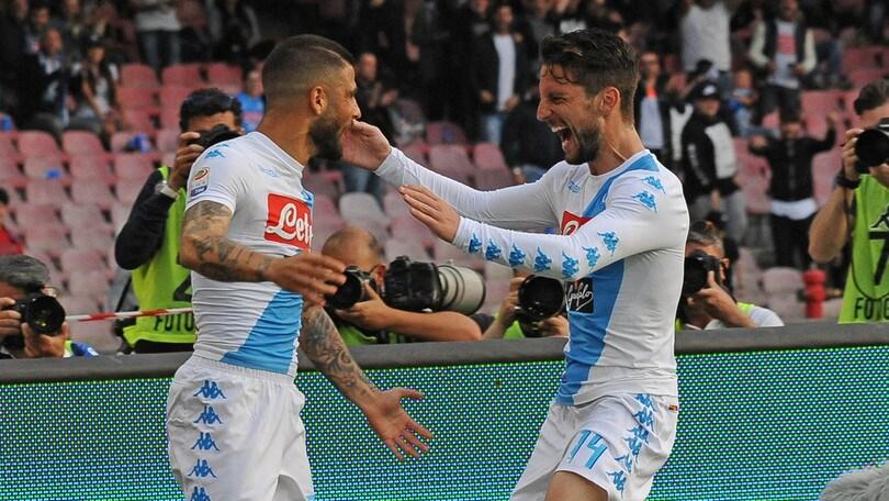 Serie A: Napoli a Torino, tre punti a 1,52