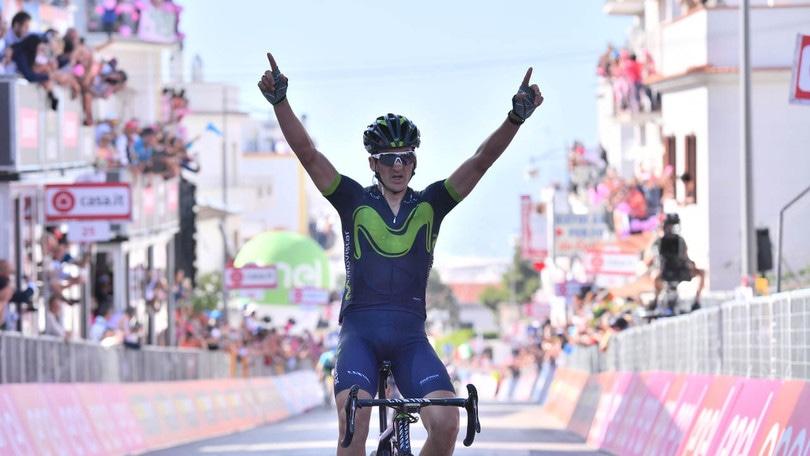 Giro d'Italia,Izagirre vince l'8ª tappa. Jungels resta in rosa