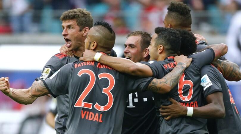 Bundesliga, rimonta pazzesca del Bayern Monaco: Lipsia battuto 5-4