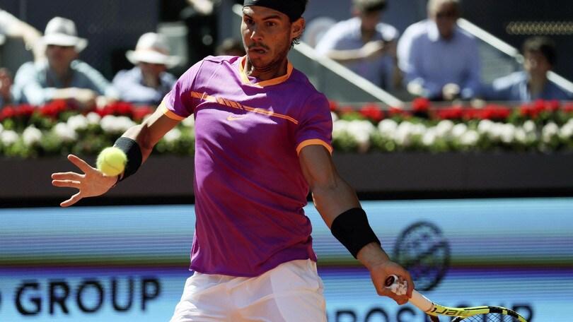 Tennis, Internazionali: Nadal padrone nelle quote