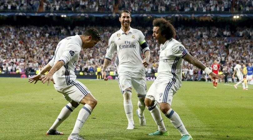 Liga: poker di Barcellona e Real Madrid