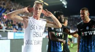 Serie A, Atalanta-Milan 1-1: Conti festeggia l'Europa con la maglia