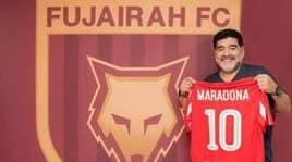 Al Fujairah, Maradona presentato ufficialmente come nuovo allenatore