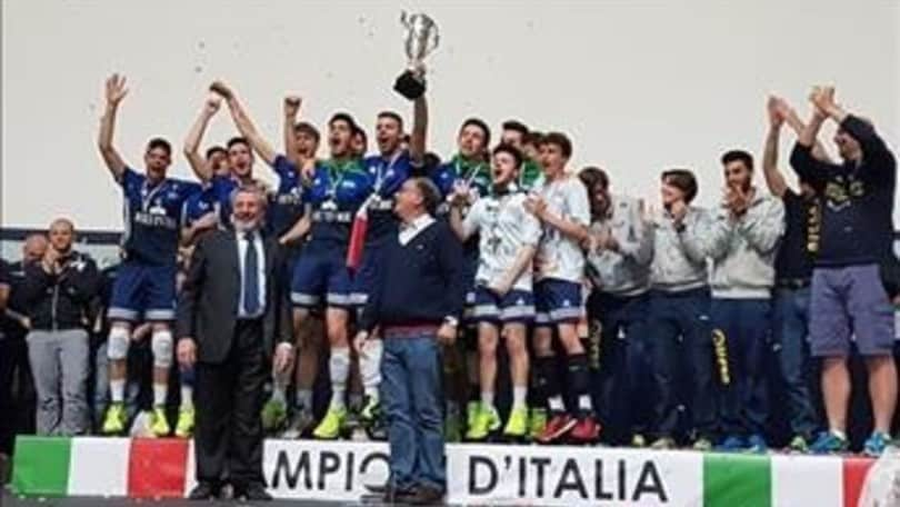 Volley: la Revivre Segrate è Campione d'Italia Under 19