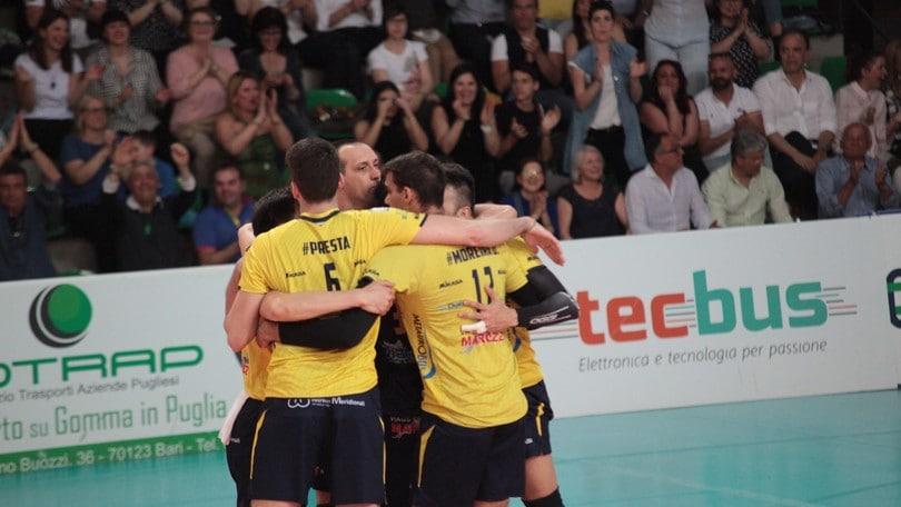 Volley: A2 Maschile, Castellana Grotte festeggia la promozione in Superlega