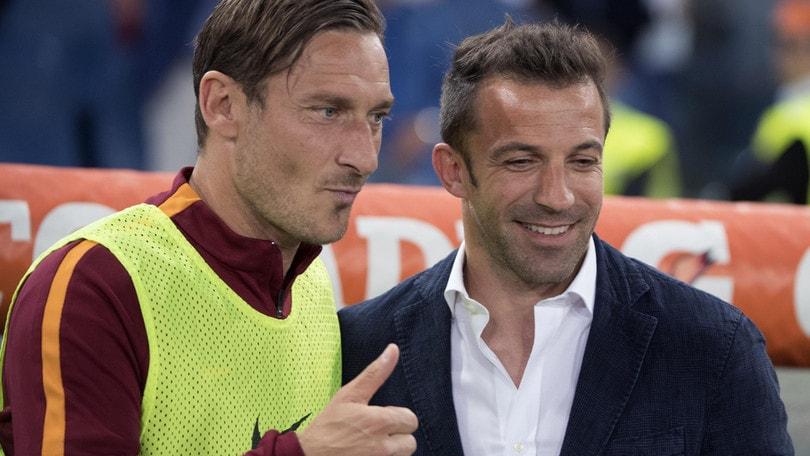 Del Piero, frecciata a Spalletti: «Io Totti lo farei giocare»