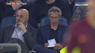 Roma-Juventus, in tribuna c'è Paulo Sousa