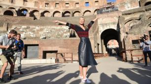 Internazionali d'Italia: Maria Sharapova illumina il Colosseo