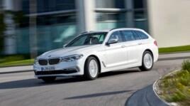 BMW Serie 5 Touring, il salotto silenzioso