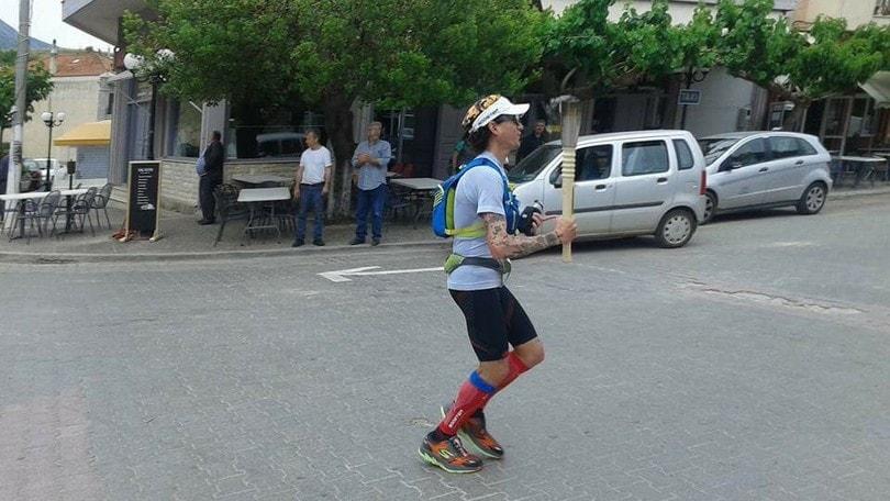 Marco Bonfiglio vince la Euchidios Race 215Km con doppio record
