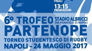 Al via il sesto trofeo rugby Partenope Junior testimonial Cristina Tonno e Giuseppe Costanza