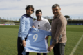 Juventus-Lazio: ecco Salas, l'ambasciatore della Tim Cup