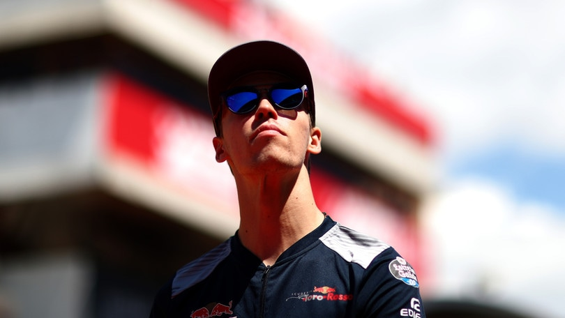 F1 Toro Rosso, Kvyat: «Sensazione grandiosa»