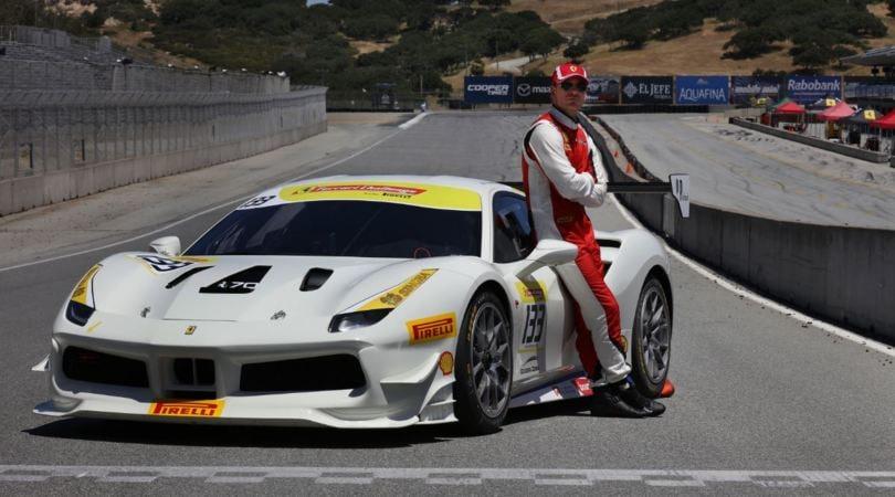 Michael Fassbender, la star del Ferrari Challenge