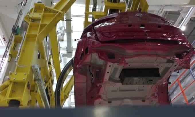 Cassino, la fabbrica 4.0 di Alfa Romeo