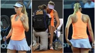 """Maria Sharapova ko agli Internazionali: Roma perde la sua """"regina"""""""