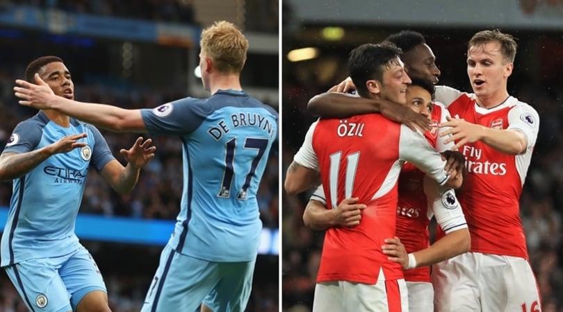Premier League, tre punti da Champions per City e Arsenal
