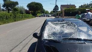 Hayden: le foto dell'incidente