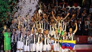 Coppa Italia, è festa Juventus all'Olimpico