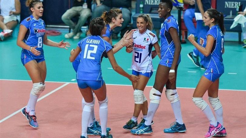 Volley: Qualificazioni Mondiali, l'Italdonne all'esordio contro la Bosnia