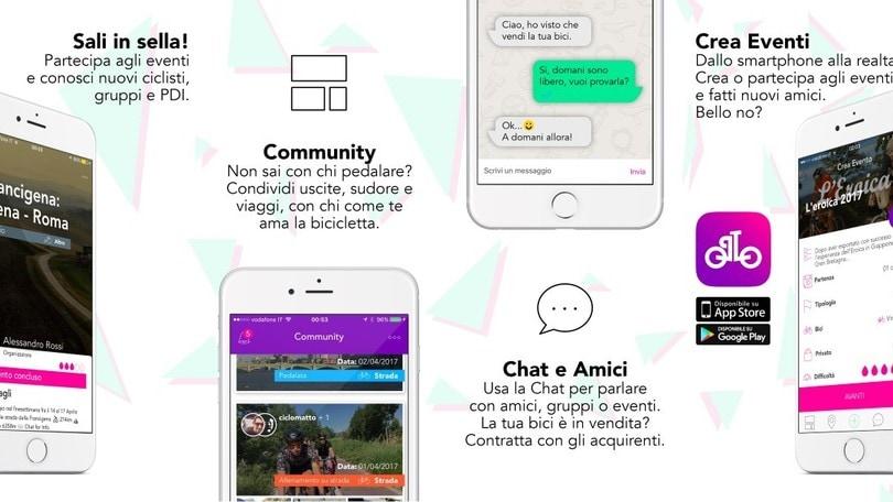Nasce Followhere, l'App dedicata ai ciclisti