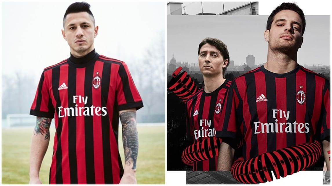Milan, presentata la nuova maglia: ritorno alla tradizione